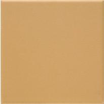 Lattialaatta Pukkila Natura Okrankeltainen, himmeä, sileä, 96x96mm, lasikuituverkossa