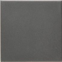 Lattialaatta Pukkila Natura Musta, himmeä, sileä, 96x96mm