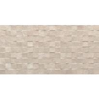 Kuviolaatta Pukkila Piazen Ivory Cubic, himmeä, struktuuri, 600x300mm