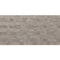 Kuviolaatta Pukkila Piazen Ash Cubic, himmeä, struktuuri, 600x300mm