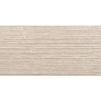 Kuviolaatta Pukkila Piazen Ivory Groove, himmeä, struktuuri, 600x300mm