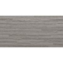 Kuviolaatta Pukkila Balance Grey muretto, himmeä, sileä, 592x295mm