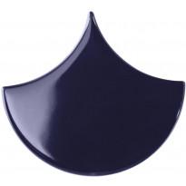 Seinälaatta Pukkila Scales Cobalto, kiiltävä, sileä, 150x135mm