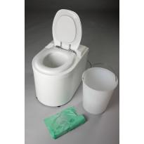 Pakastava käymälä PikkuVihreä Privetti Super, lattialämmityskohteisiin
