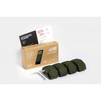 Liitospala DIY-kalusteisiin Playwood 105°, 4 kpl, armeijanvihreä