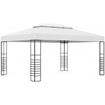 Paviljonki jauhemaalattu teräs 4x3x2,7 m antrasiitti
