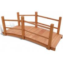Puutarhan silta 140 x 60 x 56 cm
