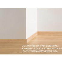 Vakiojalkalista Quick Step 3558, 58x12x2400 mm, tammi, soft harmaa