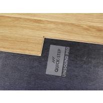 Laminaatin alusmateriaali Quick Step Unisound Pro, 2mm, musta+DPM