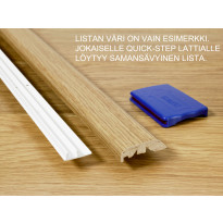 Monitoimilista Quick Step Incizo, 1553, 215cm, ceramic, valkoinen