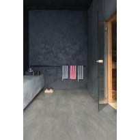 Vinyylilattia Quick Step Livyn Ambient 40051, betoni, tummanharmaa
