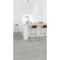 Vinyylilattia Quick Step Livyn Ambient click plus 40050, betoni, lämmin harmaa