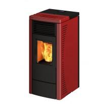 Pellettitakka Ravelli R70, 7.1kW, punainen