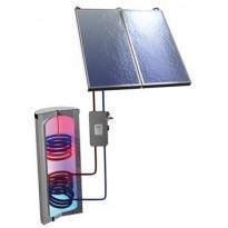 Aurinkolämpöpaketti Ruukki 8m² + käyttövesivaraaja 400l