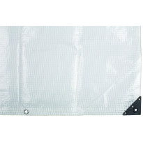 Suojapeite ETC Leno 4x6m 225g/m² läpikuultava valkoinen