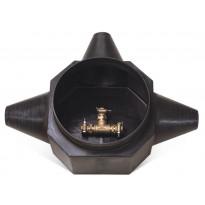 Haaroituskaivo Midi 450/3 90-180 mm Rauheat