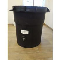 Lämpöeristetty vesimittarikaivo Ginmika AS400+, vesiputken kanssa