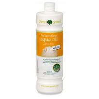 Hoitoöljy HARO Aqua Oil White öljytyille pinnoille, 1l