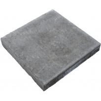 Sileä betonilaatta Rudus, 420x420x60mm, harmaa