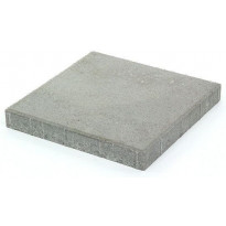 Betonilaatta Rudus, 398x398x50mm, sileä, harmaa