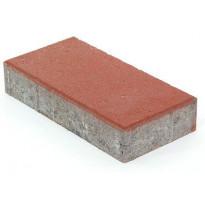 Betonilaatta Rudus, 418x208x80mm, sileä, punainen