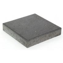 Betonilaatta Rudus, 418x418x80mm, sileä, musta