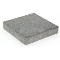 Betonilaatta Rudus, 418x418x80mm, hiekkapuhallettu, kulo