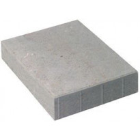 Betonilaatta Rudus, 418x628x120mm, sileä, harmaa