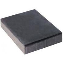 Betonilaatta Rudus, 418x628x120mm, sileä, musta