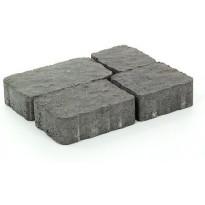 Pihakivisarja Rudus Verona-kivet, 60mm, profiloitu, musta