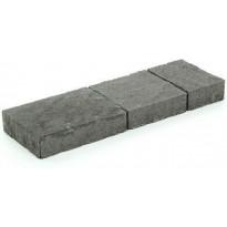 Pihakivisarja Rudus Torino-kivet, 60mm, profiloitu, musta