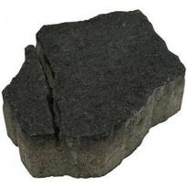 Pihakivi Rudus Luotokivi, 370x270x80mm, profiloitu, hiili