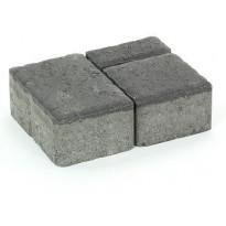 Pihakivisarja Rudus Milano-kivet, 80mm, sileä, musta