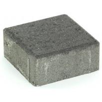 Pihakivi Rudus Kartanonoppa 60, 138x138x60mm, sileä, musta