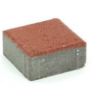 Pihakivi Rudus Kartanonoppa 60, 138x138x60mm, sileä, punainen