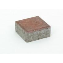 Pihakivi Rudus Kartanonoppa 60, 138x138x60mm, sileä, punamusta