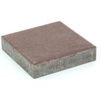 Pihakivi Rudus Kartanolaatta 60, 278x278x60mm, sileä, ruskea