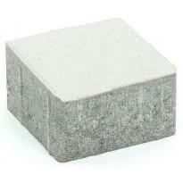 Pihakivi Rudus Kartanonoppa 80, 138x138x80mm, sileä, valkoinen