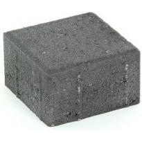 Suojatiekivi Rudus Kartanonoppa 80, 138x138x80mm, sileä, musta