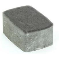 Pihakivi Rudus Klassikko suorakaide 80, 172x115x80mm, sileä, musta