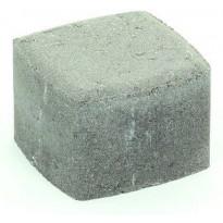 Pihakivi Rudus Klassikko neliö 80, 115x115x80mm, sileä, harmaa