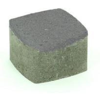 Pihakivi Rudus Klassikko neliö 80, 115x115x80mm, sileä, musta