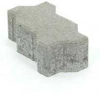 Pihakivi Rudus Unikivi 80, 225x112,5x80mm, sileä, harmaa