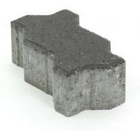 Pihakivi Rudus Unikivi 80, 225x112,5x80mm, sileä, musta