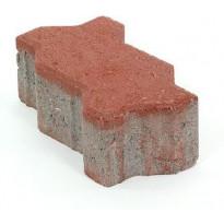 Pihakivi Rudus Unikivi 80, 225x112,5x80mm, sileä, punainen
