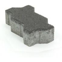 Pihakivi Rudus Unikivi 60, 225x112,5x60mm, sileä, musta