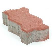 Pihakivi Rudus Unikivi 60, 225x112,5x60mm, sileä, punainen