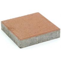 Pihakivi Rudus Kartanolaatta 80, 278x278x80mm, sileä, hiekanruskea