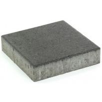 Pihakivi Rudus Kartanolaatta 80, 278x278x80mm, sileä, musta