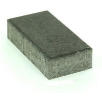 Pihakivi Rudus Kartanokivi 60, 278x138x60mm, sileä, musta